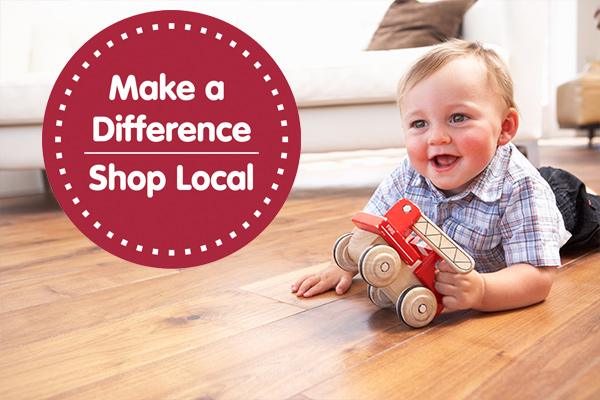 Make a difference, shop local! The money you spend here stays in our community.